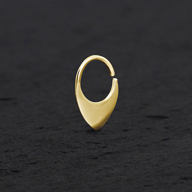 Triangle Septum Jewelry | patapatajewelry