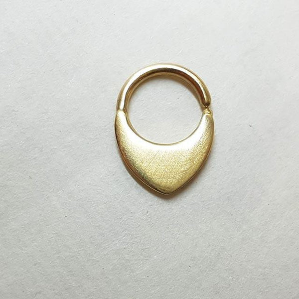 14k Gold Septum Ring