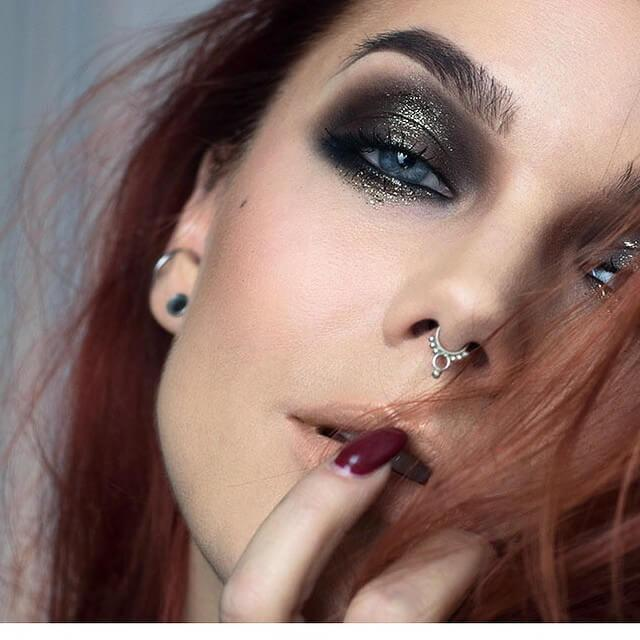 Tribal Beauty Fake septum piercing rings Linda Hallberg