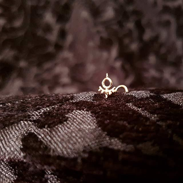 Kali Ma - 14k Rose Gold Nose Stud