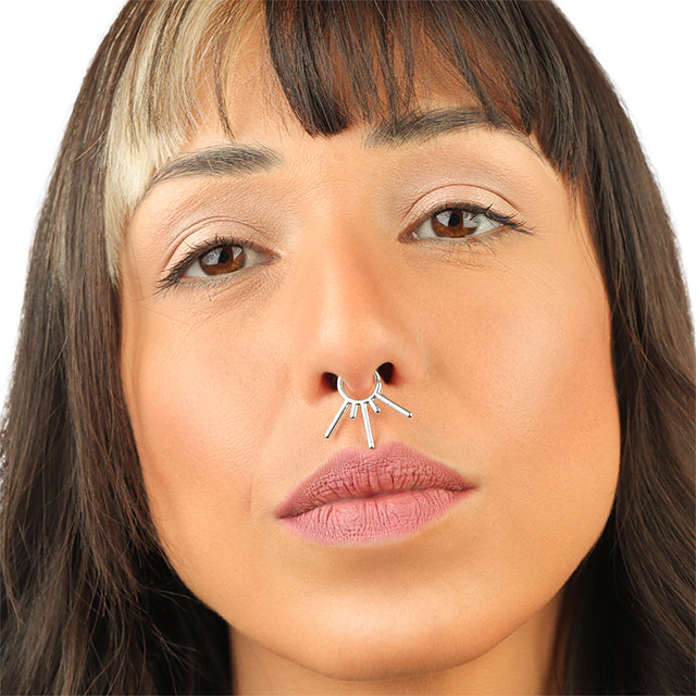 Tribal Septum Ring | patapatajewelry
