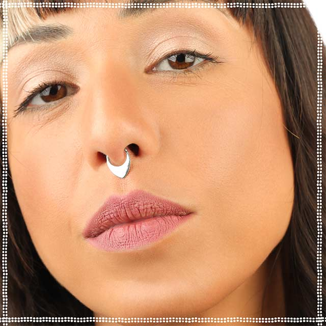 Triangle Septum Ring | patapatajewelry