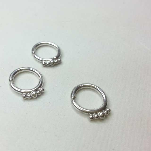 Urban Princess Silver Septum Ring