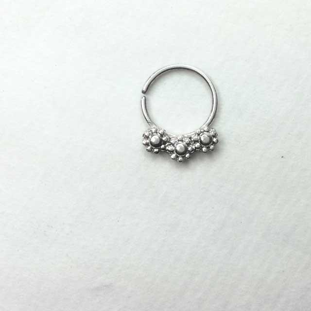 Urban Fairy Silver Septum Ring