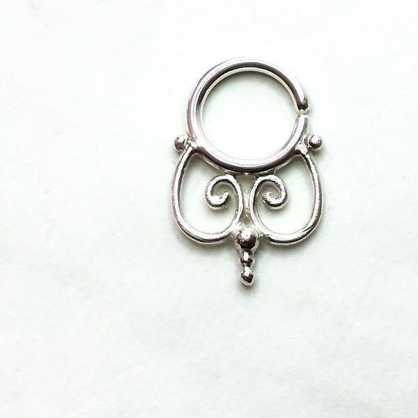 BabeWitched Silver Septum Ring - patapatajewelry