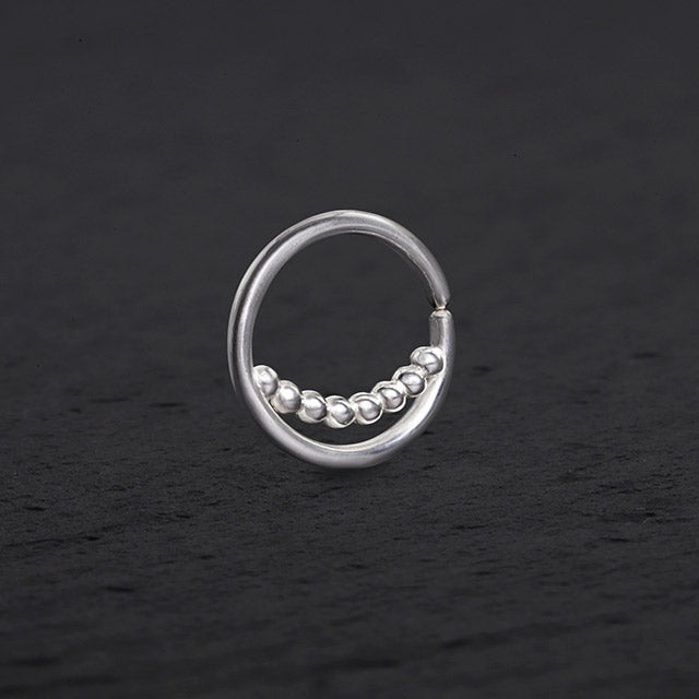 silver nose ring | Pata Pata Jewelry
