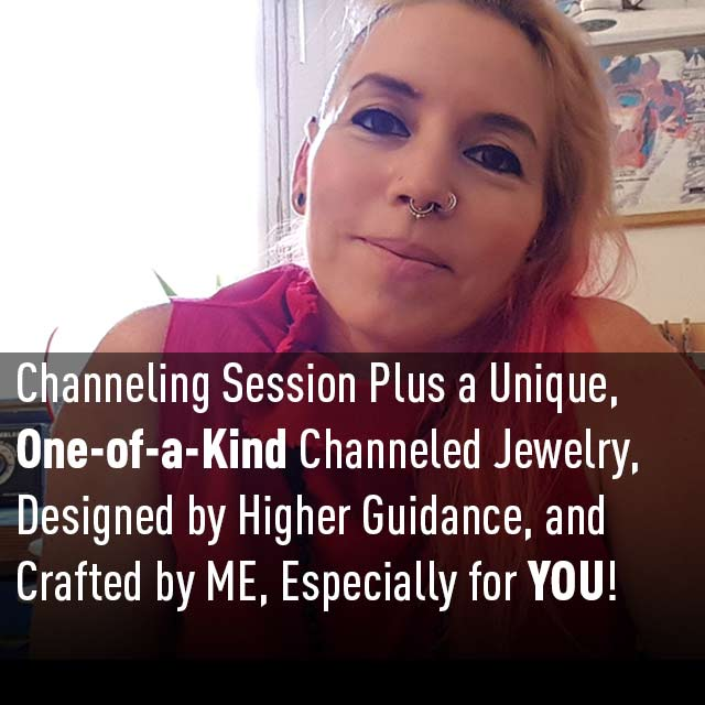 Channeling Session Plus a Unique, One-of-a-Kind Channeled  Jewelry, Designed by Higher Guidance, and Crafted by ME, Especially for YOU! - patapatajewelry