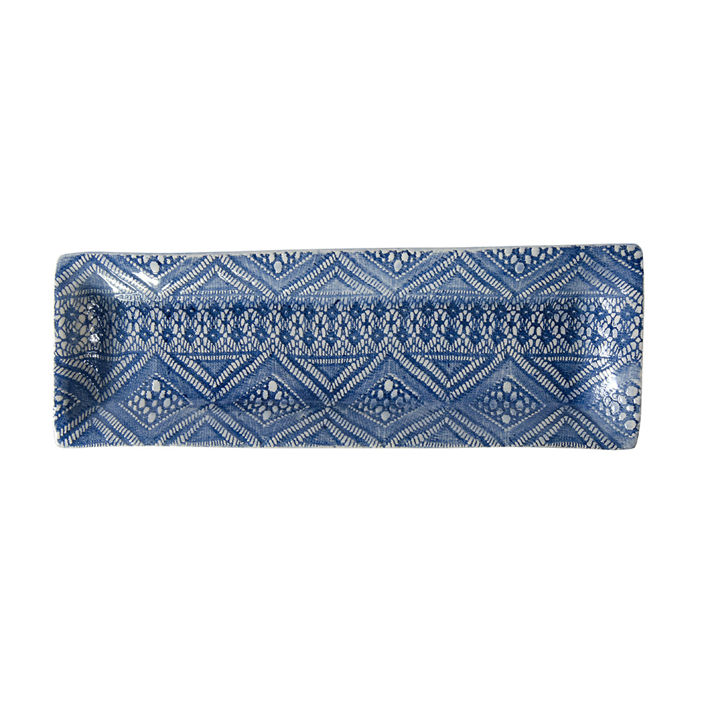 Utensil Blue Lace