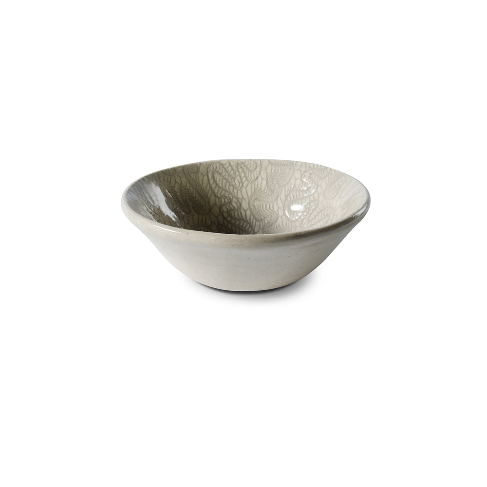 Ramekin Warm Grey Lace