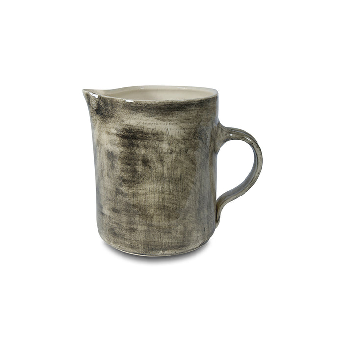 Small Water Jug Black Wash