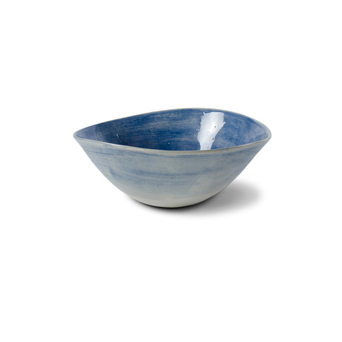 Pasta Bowl Blue Wash