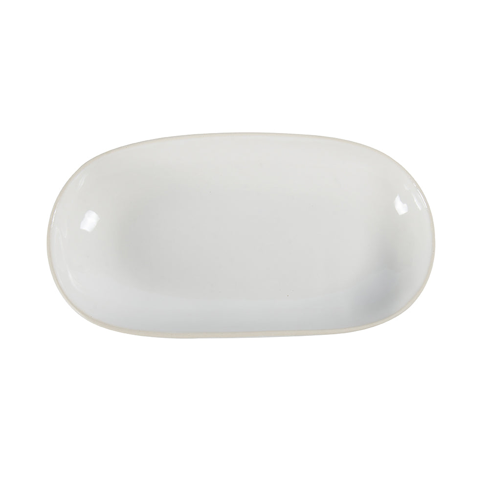 Rice Dish White Beach Sand, Serving Dish - Wonki Ware Australia