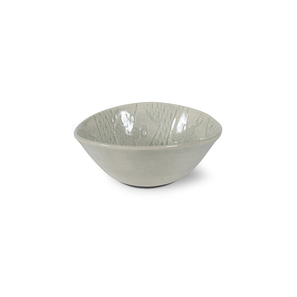 Ramekin Duck Egg Lace