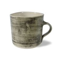 Straight Mug Black Wash