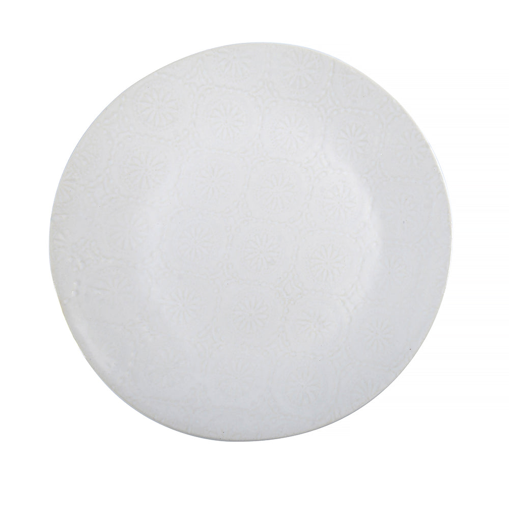 Dinner Plates White Lace