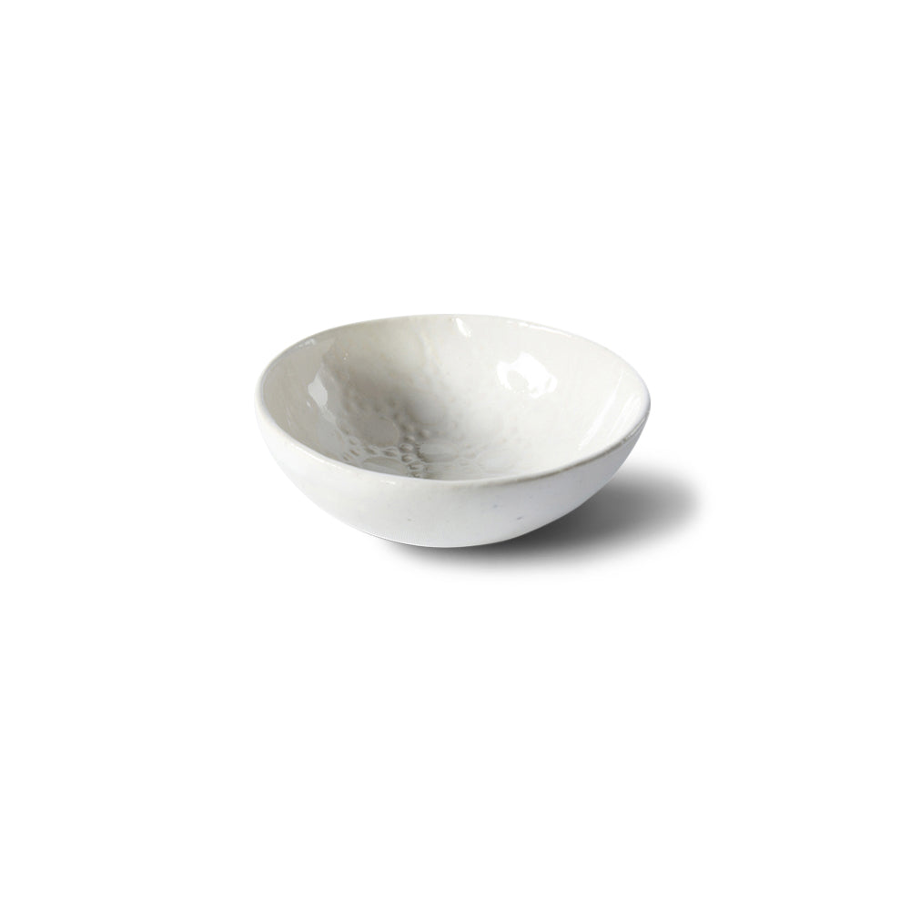 Salt Dish White Lace