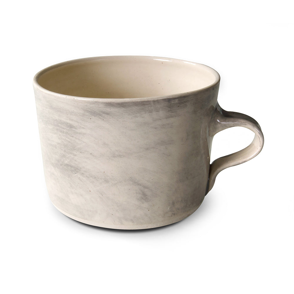 Squat Mug Warm Grey Wash, Mugs - Wonki Ware Australia