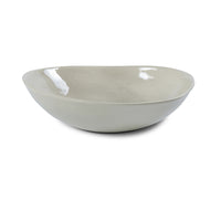 Pebble Salad Bowl Warm Grey Wash, Bowls - Wonki Ware Australia