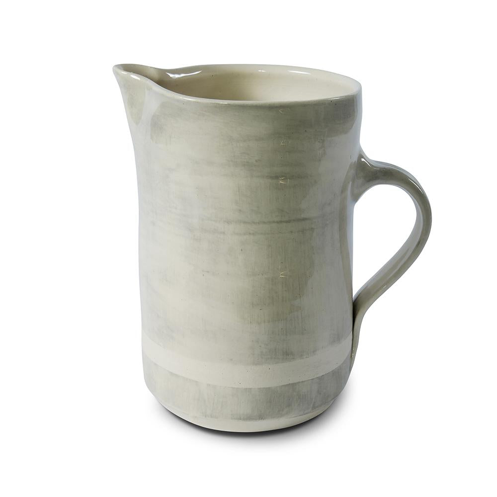 1lt Tall Jug Warm Grey Beach Sand, Jugs - Wonki Ware Australia