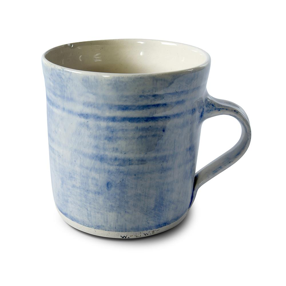 Straight Mug Blue Wash, Mugs - Wonki Ware Australia