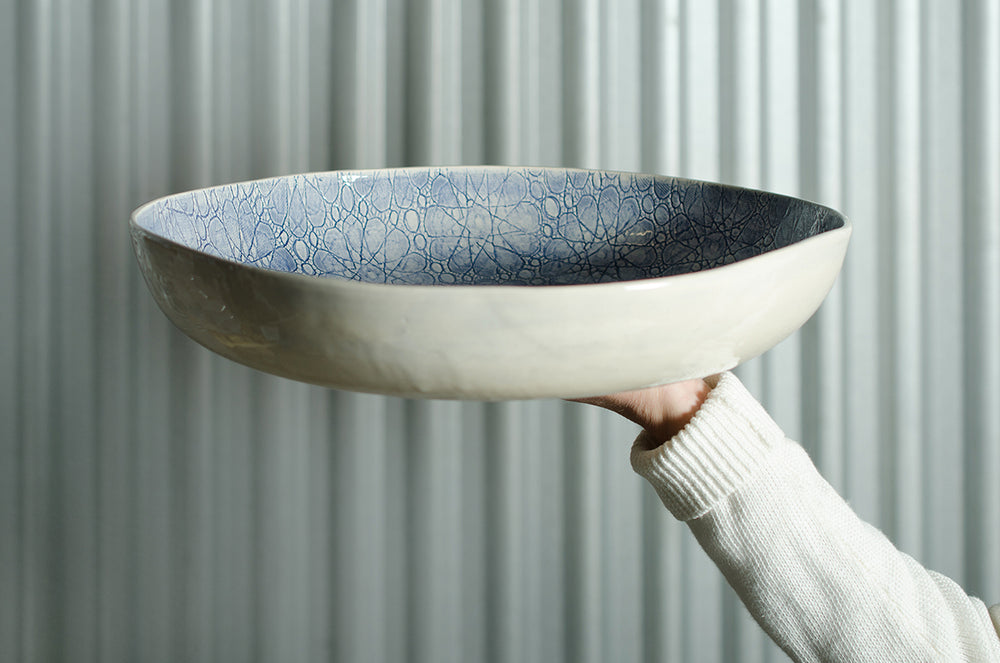 Pie Dish Black Wash