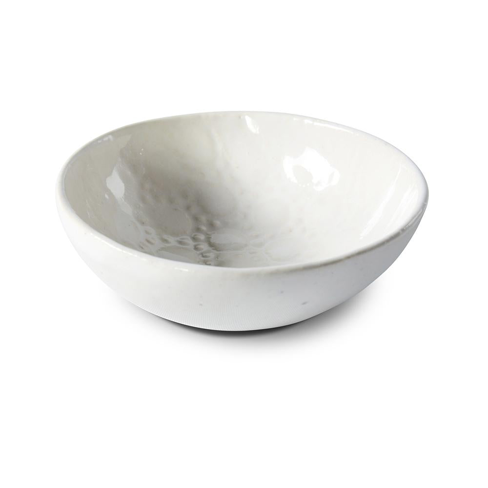 Salt Dish White Lace, Accessories - Wonki Ware Australia
