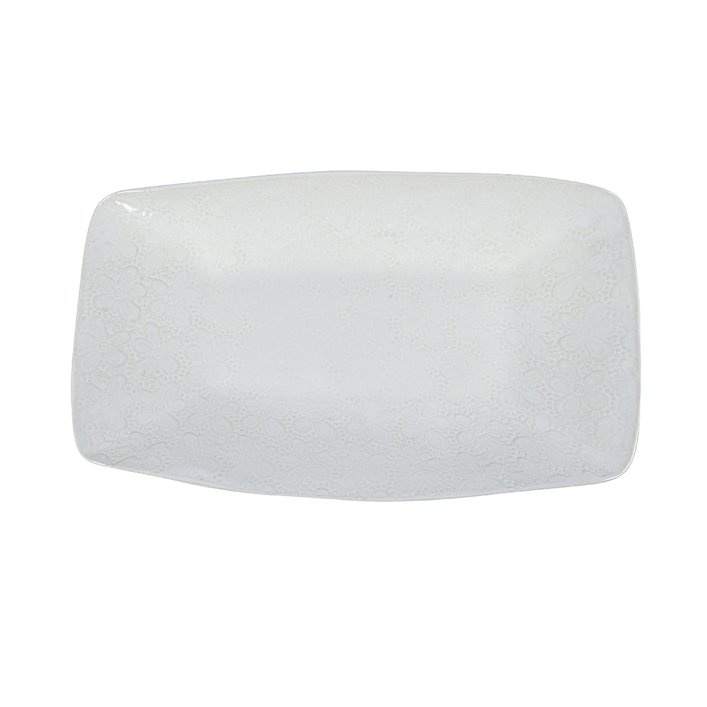 Trough Plain White, Platters - Wonki Ware Australia
