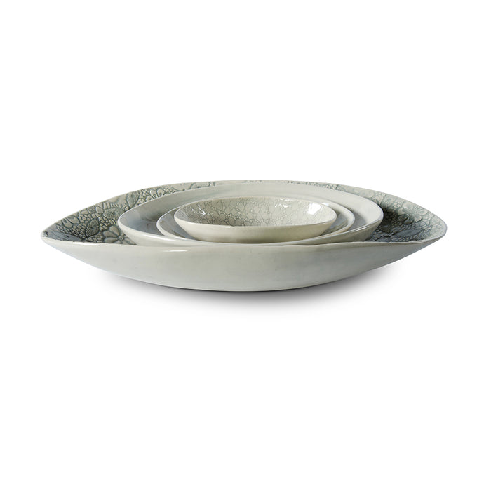Etosha Duck Egg Wash, Serving Dish - Wonki Ware Australia