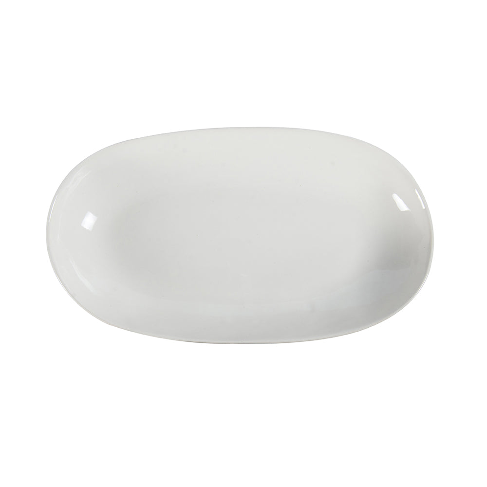 Rice Dish Plain White, Serving Dish - Wonki Ware Australia