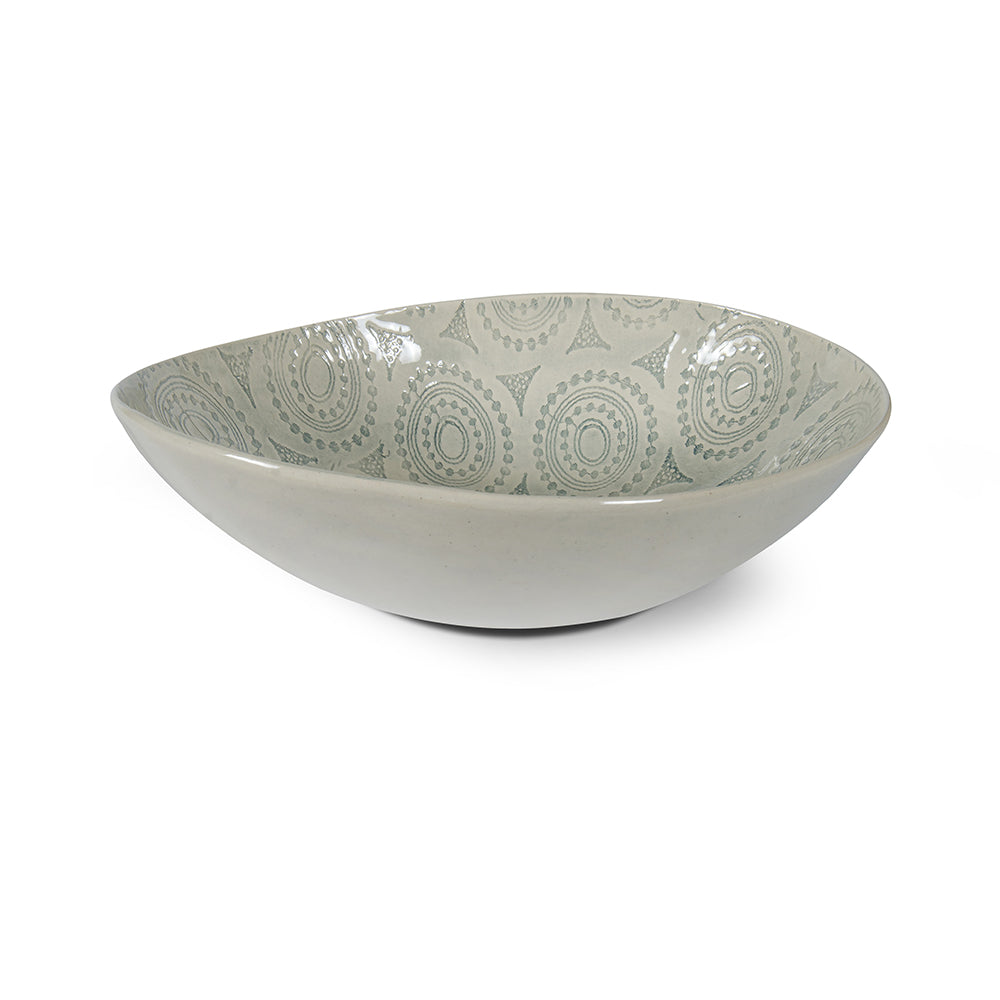 Pebble Salad Duck Egg Lace, Bowls - Wonki Ware Australia