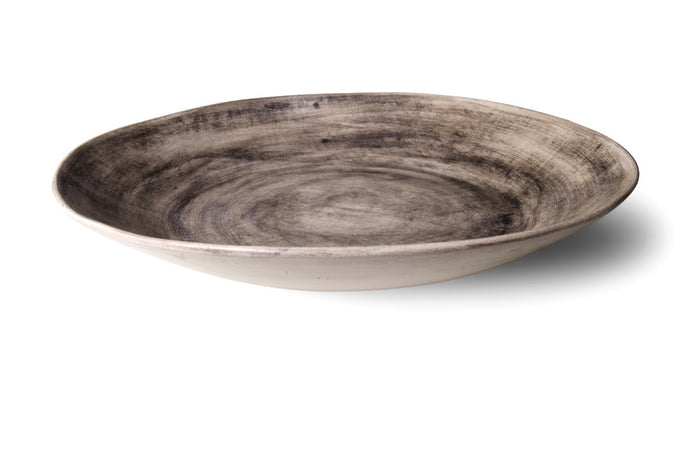 XL Deep Black Wash, Serving Dish - Wonki Ware Australia