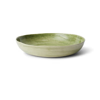 Pie Dish Dark Green Beach Sand