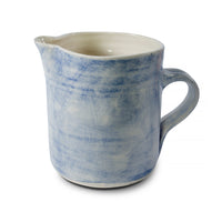 Large Pitcher Blue Wash