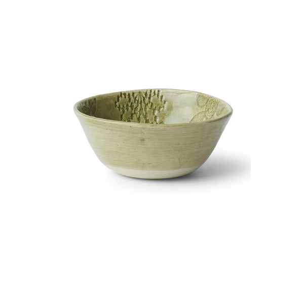 Ramekin Dark Green Lace