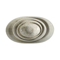 Etosha Warm Grey Wash, Serving Dish - Wonki Ware Australia