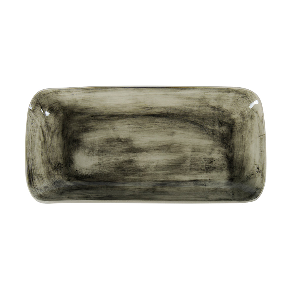 Trough Black Beach Sand, Platters - Wonki Ware Australia