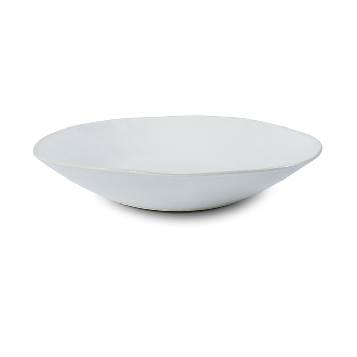 XL Deep White Beach Sand, Serving Dish - Wonki Ware Australia