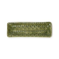 Utensil Dark Green Lace