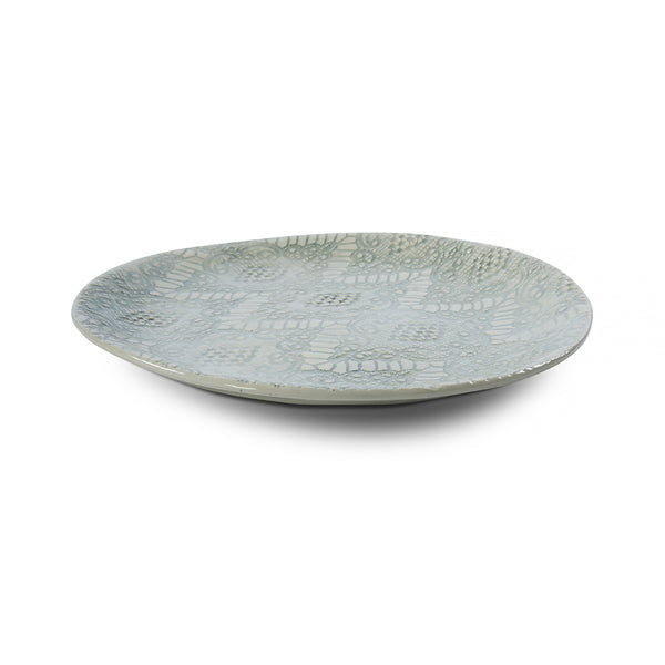 Side Plate Duck Egg Lace, Plates - Wonki Ware Australia