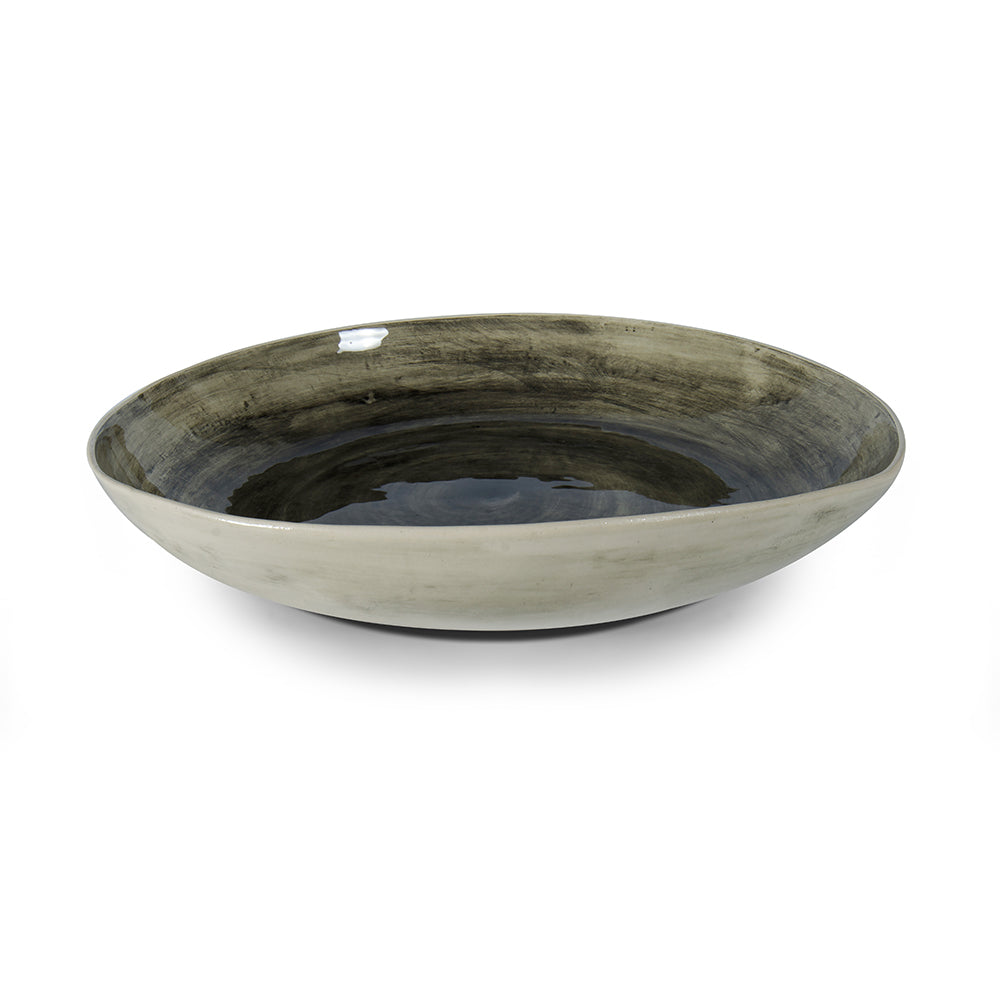 Pie Dish Black Beach Sand, Serving Dish - Wonki Ware Australia
