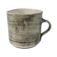 Straight Mug Black Wash, Mugs - Wonki Ware Australia