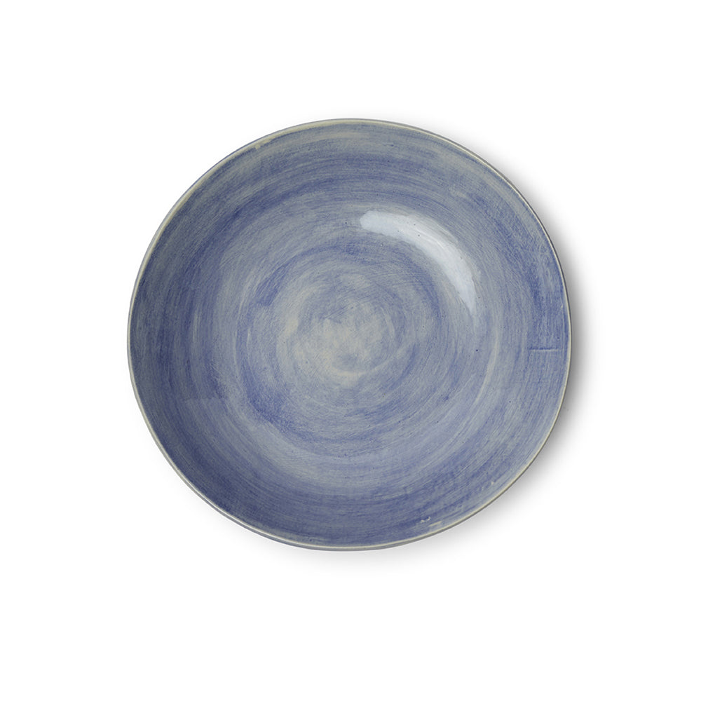Spaghetti Bowl Blue Wash