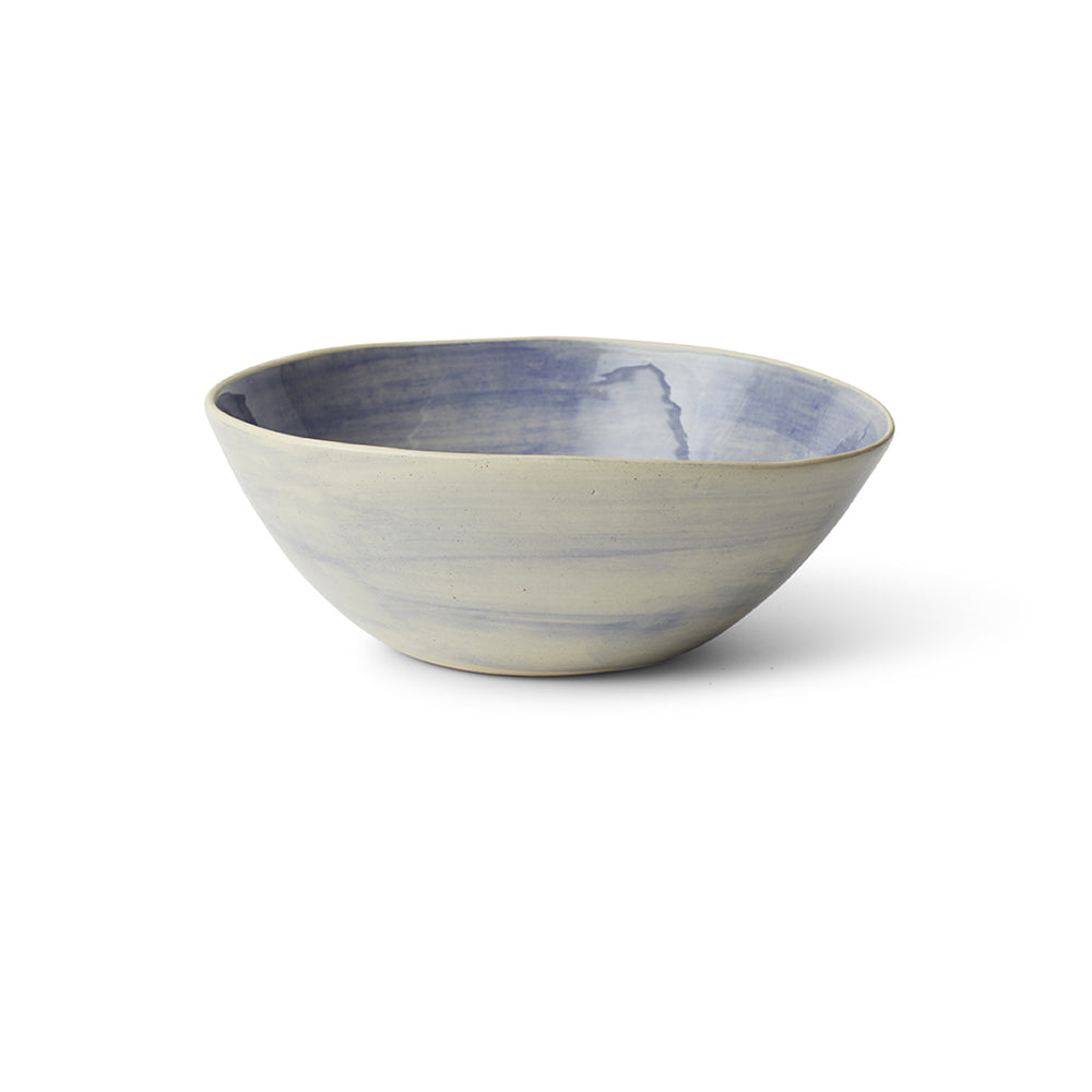 Salad Bowl Blue Beach Sand