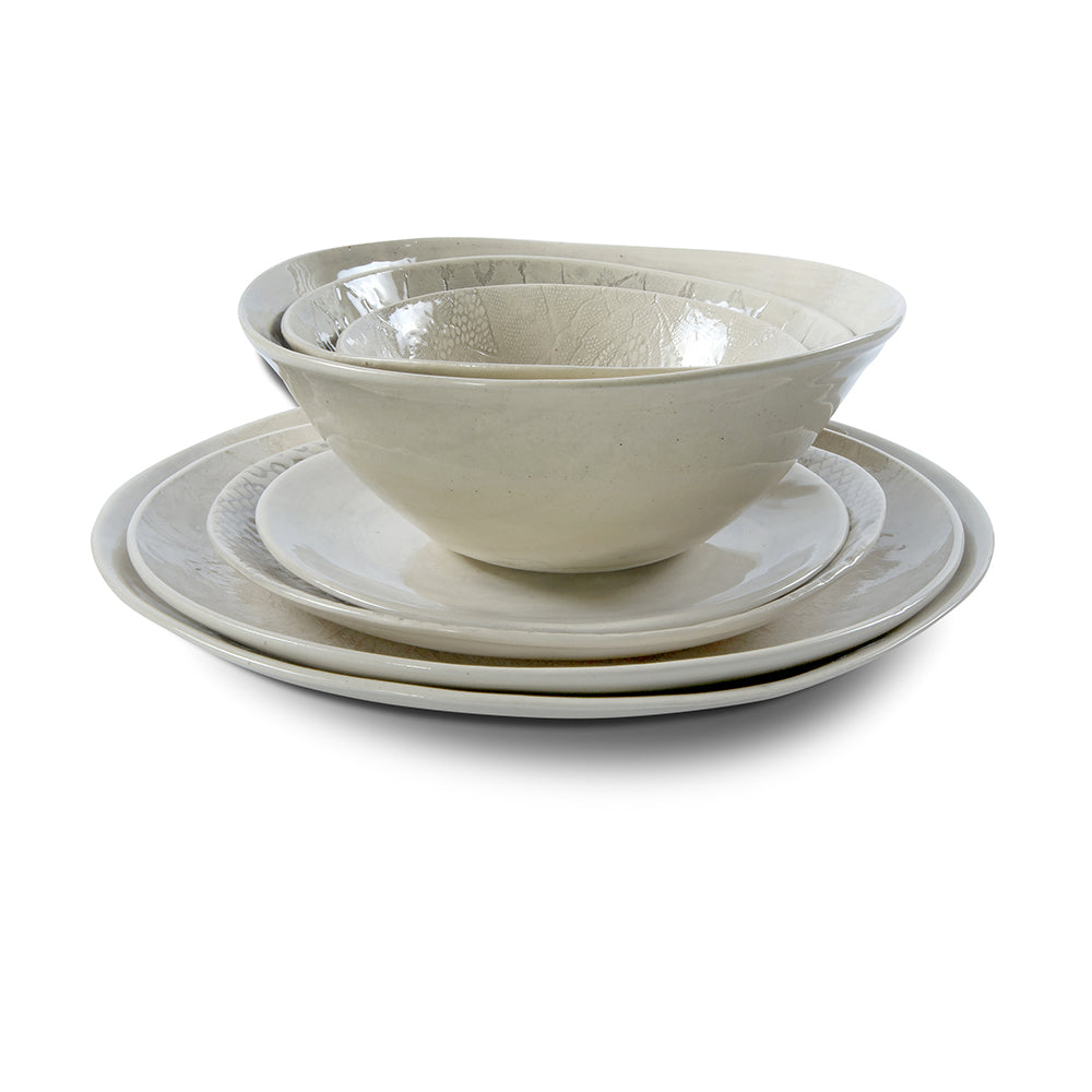 Soup Bowl Warm Grey Wash, Plates - Wonki Ware Australia