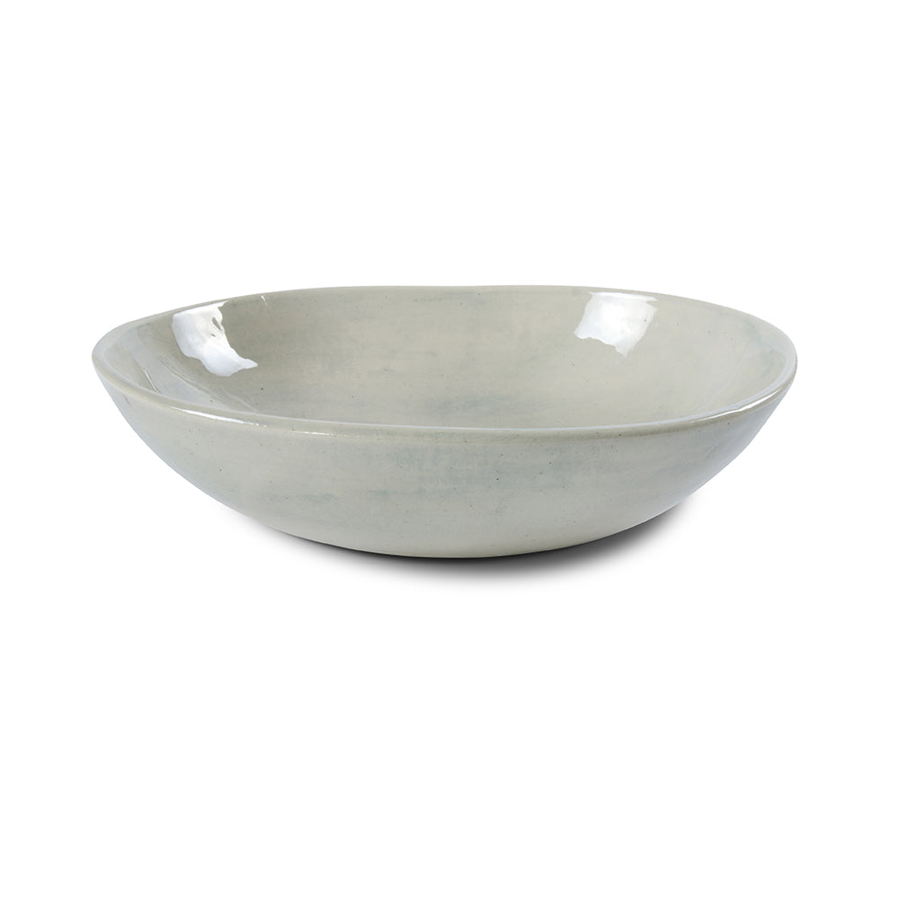 Pebble Salad Bowl Duck Egg Wash, Bowls - Wonki Ware Australia