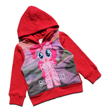 New Little Pony Hood Hoodie Jacket Pink / Purple