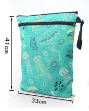 XLarge 40 cm x 33 cm Waterproof Reusable Diaper Wetbags Swim Bag WBXL [Little Gems]