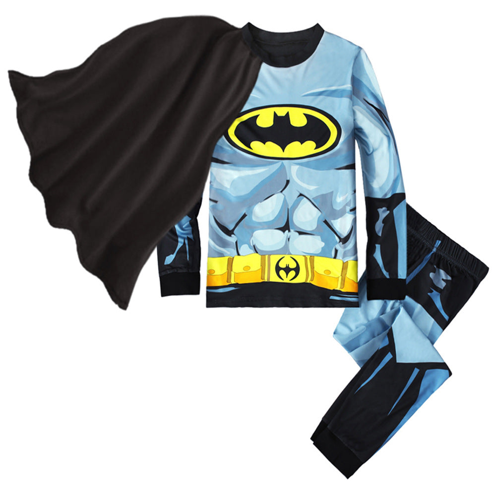 KOR165 Toddler Kids Pajamas PJs Sleepwear - Batman
