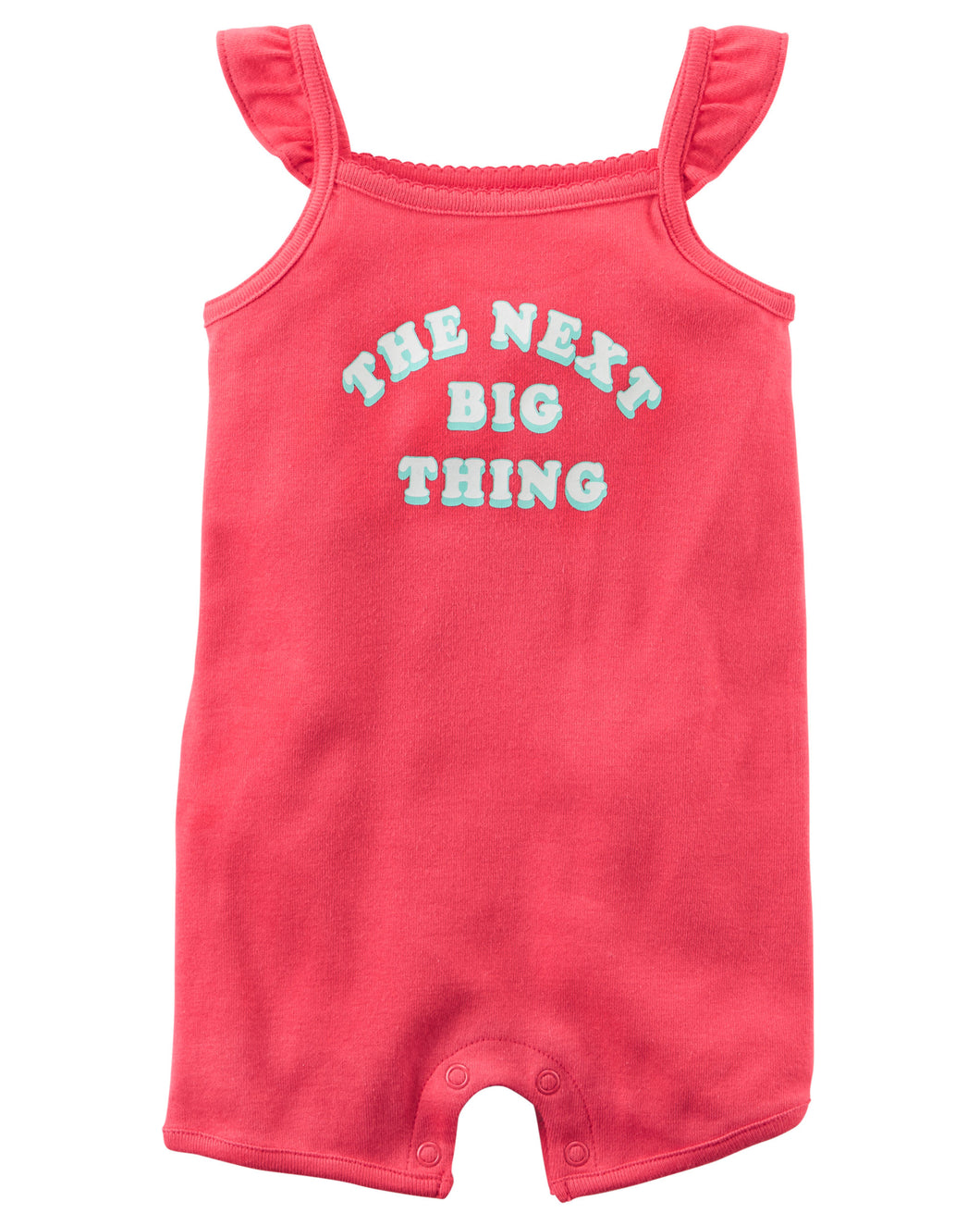 CAGL156 Carter's Baby Girls The Next Big Thing Romper