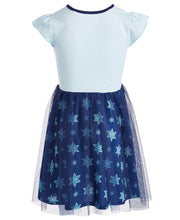 FRA004 Frozen Toddler Girls Tulle Dress
